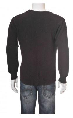 Pulover tricot bumbac Haggar, marime M