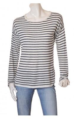 Pulover tricot fin bumbac H&M L.o.g.g., marime M