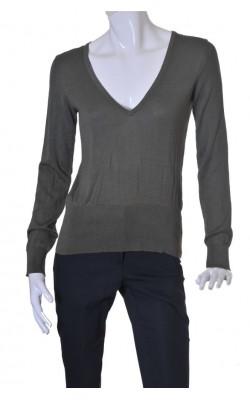 Pulover tricot fin matase si bumbac H&M, marime 40