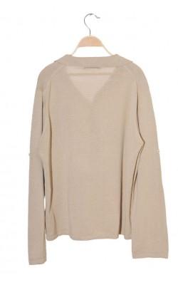 Pulover tricot fin ramie si bumbac Zara, marime L