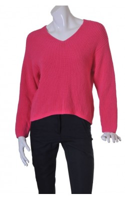 Pulover tricot reiat H&M, croi supradimensionat, marime S
