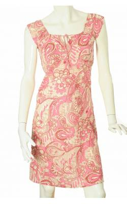 Rochie alba print floral Ichi by B.Young, marime 36