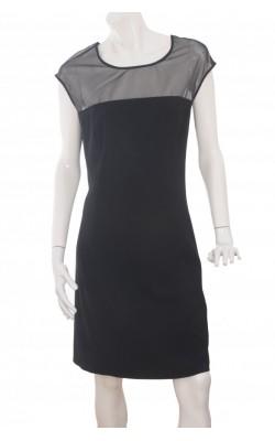 Rochie crepe negru H&M, marime 54
