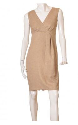 Rochie fir metalic auriu Inwear, marime 42