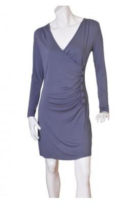 Rochie gri din jerseu Casual Clothing, marime 38