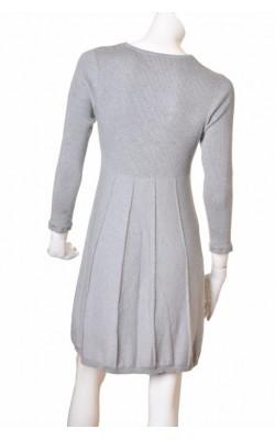 Rochie gri tricot fin Fransa, marime M