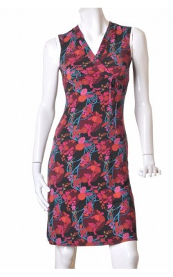 Rochie H&M Hennes, print floral, marime S