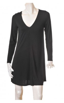 Rochie H&M, jerseu negru, marime M