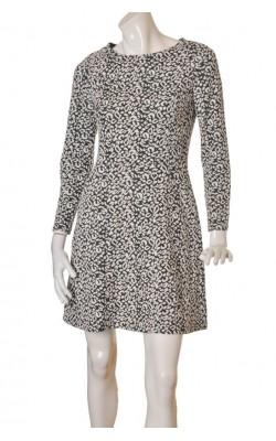 Rochie H&M, jerseu texturat, marime M