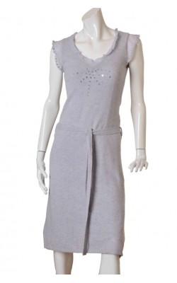 Rochie lila din lana si casmir H&M, marime 38