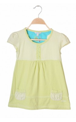 Rochie lime Fat Face, 8 ani