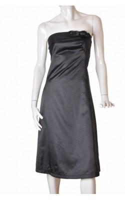 Rochie lunga din tafta neagra Vero Moda, marime 36