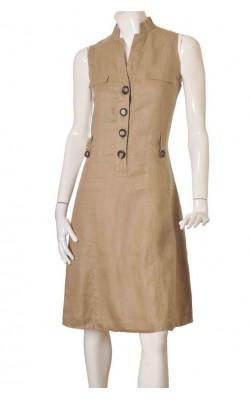 Rochie lunga Zara, panza de ramie, marime 46