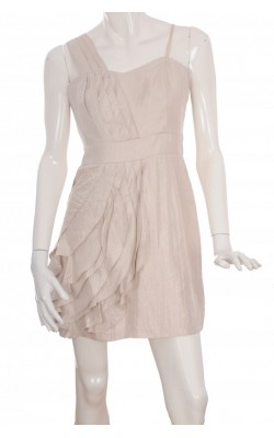 Rochie satin ivoire Max and Cleo, marime 40