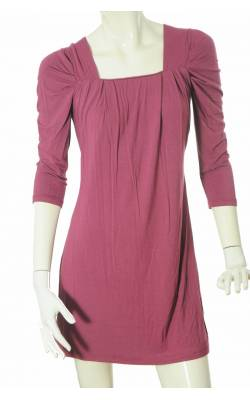 Rochie mov bust drapat Chopin, marime S