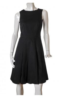 Rochie neagra bumbac H&M, marime 40