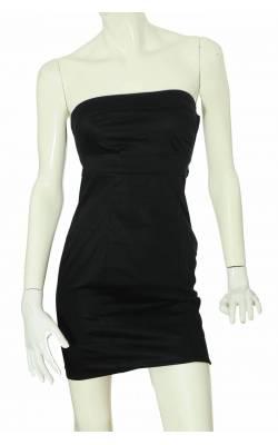 Rochie neagra bumbac stretch H&M, marime 36