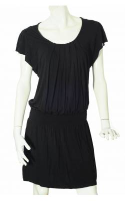 Rochie neagra bust drapat Colline by Vertbaudet, marime L