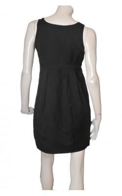 Rochie neagra cu imprimeu H&M, marime 42