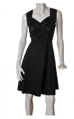 Rochie neagra Ihot Fashion, marime 42