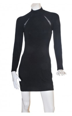 Rochie neagra Nly Trend, marime 38