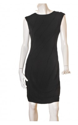 Rochie neagra office Lindex, marime 40