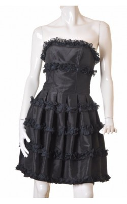 Rochie neagra Petite Elegance, marime 38