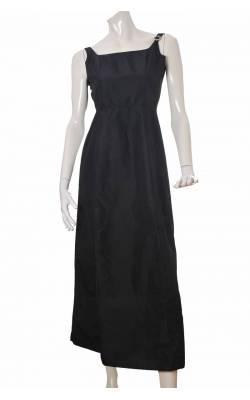 Rochie negru satinat Hennes by H&M, marime 34