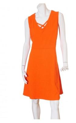 Rochie oranj New Look Curves, marime 56