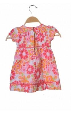 Rochie print floral Marks&Spencer, 9-12 luni