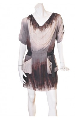 Rochie Riccovero, guler drapat, marime 40