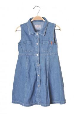 Rochie subtire denim Texas Jeans, 9 ani