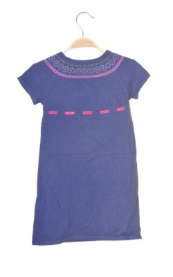 Rochie tricot brodat H&M, 4-6 ani