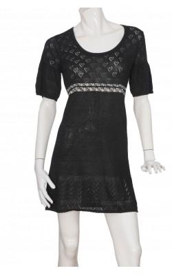 Rochie tricot fin din vascoza Culture, marime M