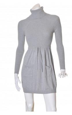 Rochie tricot gri Mango, marime 38