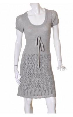 Rochie din tricot gri Vero Moda, marime S