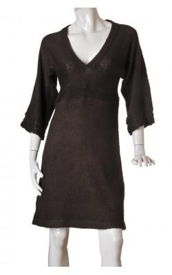 Rochie tricot maro Vero Moda, marime 40