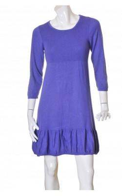 Rochie tricot mov Micha, marime 36