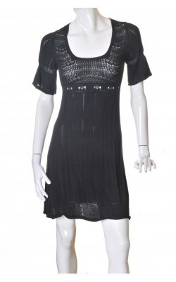 Rochie tricot negru B.Young, marime S