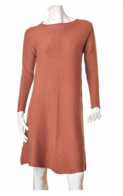 Rochie tricot Pronto Moda, vascoza, modal si casmir, marime L