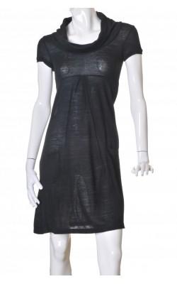 Rochie tricot subtire negru Vila, marime S
