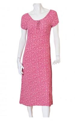 Rochie usoara din vascoza print floral Ell, marime 40