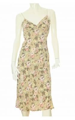 Rochie vascoza cu imprimeu floral H&M, marime 38