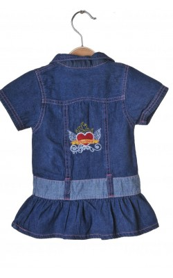 Rochita denim Disney Fairier, 2 ani