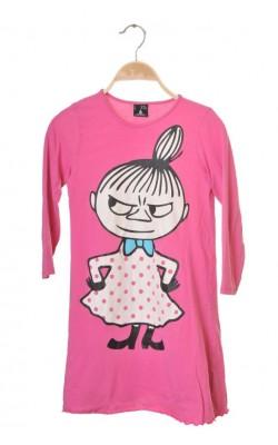Rochita roz Lindex Moomin Characters, 6-7 ani