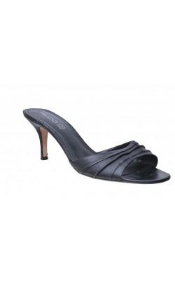 Sandale negre din piele naturala Aldo, marime 41