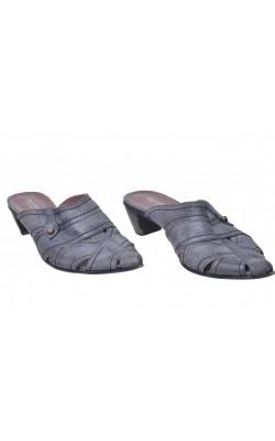 Sandale comode Paul Casty, integral piele, marime 39