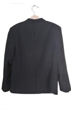 Sacou negru cu dungi albe Nyeroket, 12 ani
