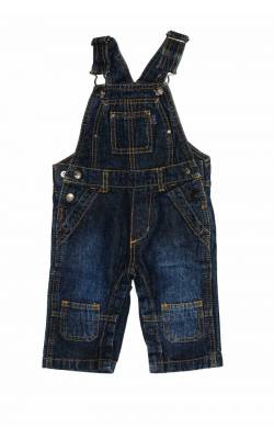 Salopeta denim Campus Baby, 6 luni