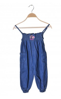 Salopeta denim subtire World of Kids, 18-24 luni